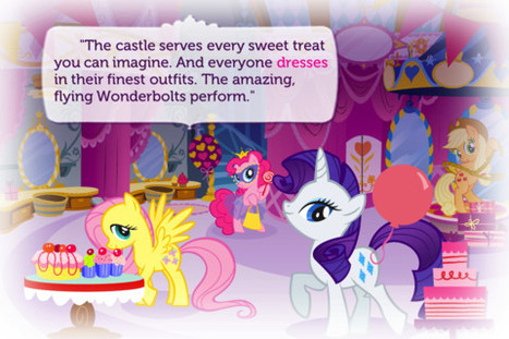 My Little Pony: Twilight Sparkle, Teacher for a Day new Storybook App from Ruckus Media   Appskinderen   Scoop.it