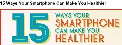 Infographic: 15 Ways Your Smartphone Can Influence Health Outcomes | web design | Scoop.it