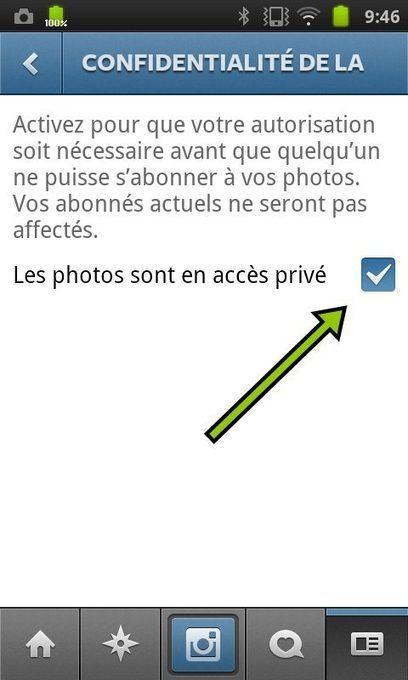 comment mettre en prive vos photos sur instagram
