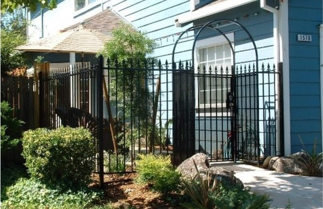 Residential and Commercial iron gates installation at highly competitive prices | Custom Courtyard Gates Design with variant styles around Sacramento | Scoop.it