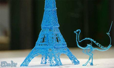 3Doodler: Crea objetos en 3D dibujando con un lapicero | Recursos y herramientas | Scoop.it
