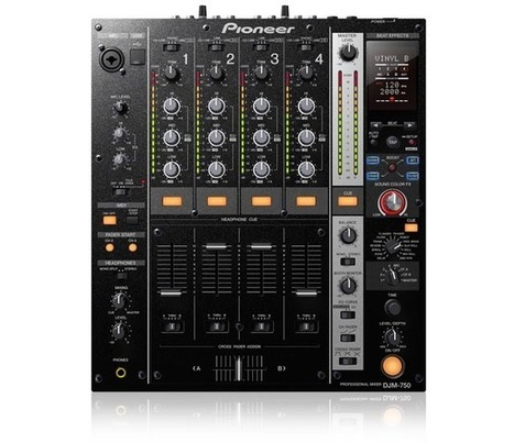 Pioneer launches DJM-750 with USB audio and multiple FX control | DJ Equipment | Scoop.it