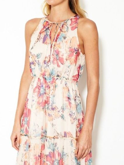 Anthropologie Blooming Silk Maxi Dress Size Large at Amazon Women's Clothing store: on imgfave | Fashion_Style | Scoop.it