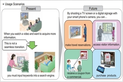 Fujitsu Develops Invisible QR Codes Made Of Light  - PSFK | QR code readers, generators and news | Scoop.it
