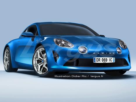 Future Alpine (2016) : l'Alpine Célébration quasi prête pour la série | Voitures anciennes - Classic cars - Concept cars | Scoop.it