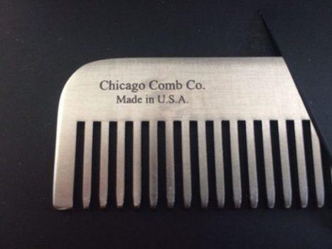 Peignes à barbe pour hipsters Chicago Comb   Arkko   Scoop.it