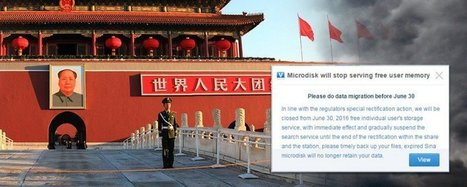 China censors cloud storage   Internet in China   Scoop.it