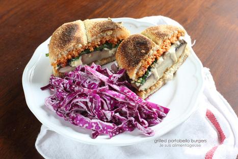 Grilled Portobello Mushroom Burgers | Recipes | Scoop.it