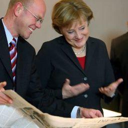 """Ex-Regierungssprecher ThomasSteg: """"Merkel ist die wahre Medienkanzlerin"""" - SPIEGEL ONLINE   German Politics   Scoop.it"""