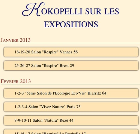 Kokopelli sur les expositions | Shabba's news | Scoop.it