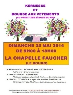 Kermesse et bourse aux vètements à la Chapelle Faucher | CRDVA 24 | Scoop.it