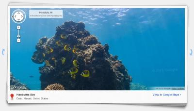 Καταδύσεις από το γραφείο με το Ocean View από το GoogleMaps | Internet Hunting | Scoop.it