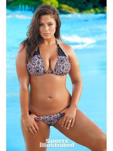 Photos : Ashley Graham la sexy mannequin ronde dans Sports Illustrated | Radio Planète-Eléa | Scoop.it