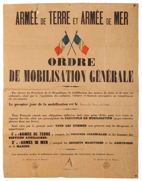 1er août 1914 | Ca m'interpelle... | Scoop.it