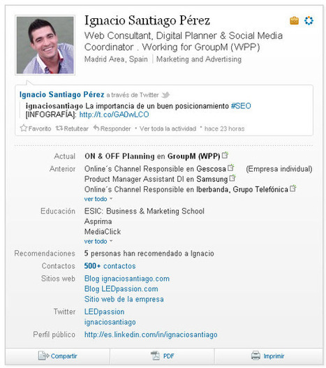 ¿Qué hago para tener un perfil 10 en Linkedin? | Deep inside social media | Scoop.it