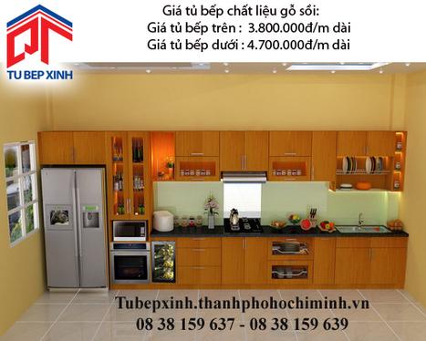 Tủ bếp gỗ sồi nhà anh Kiên - Đồng Tháp - tu-bep-go-soi-nha-anh-kien---dong-thap - tu van du hoc uy tin|du hoc gia re - | TỦ BẾP MFC - GIÁ TỦ BẾP MFC | Scoop.it