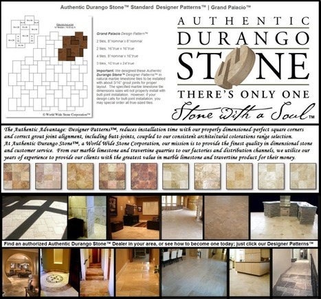 8 of 13 West Coast Travertine Tile Flooring Design Patterns | Popular Marble Limestone Travertine Tile Patterns | Scoop.it