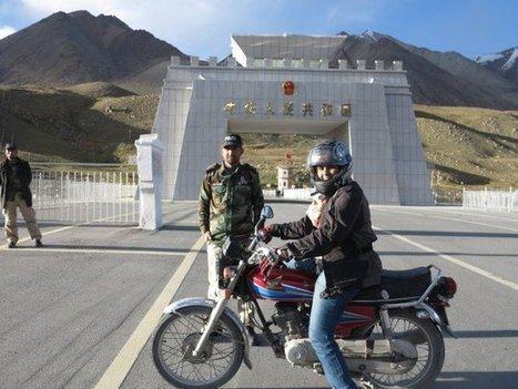 Pakistani Woman Breaking Boundaries Through Motorcycling + Video   California Flat Track Association (CFTA)   Scoop.it