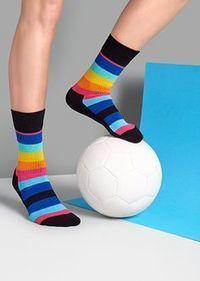 Athletic socks created by HappySocks | vanitysocks | Scoop.it