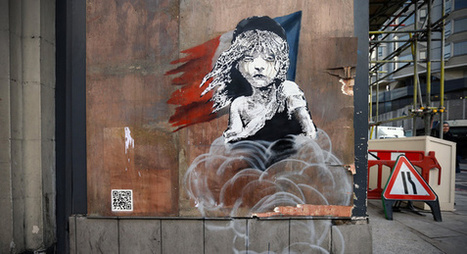 Banksy's new artwork criticizes methods in Calais refugee camp | World of Street & Outdoor Arts | Scoop.it