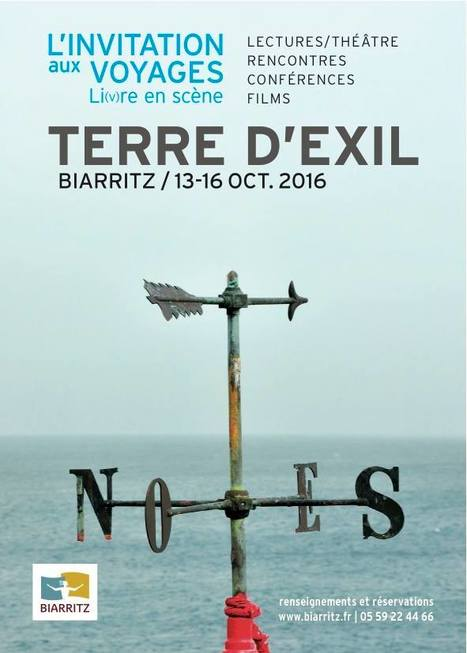 13-16 octobre 2016 :: 1re édition Festival de littérature et de théâtre (Biarritz) | TdF  |  Livres &  Littérature | Scoop.it
