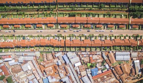 Drone photography captures the dramatic inequality of Nairobi | Everything Is Broken | Scoop.it
