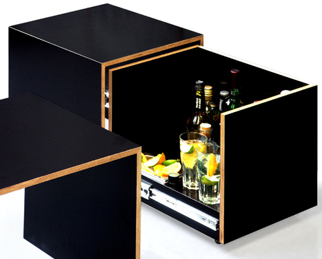 Le meuble intelligent bar table basse du for Les docks du meuble