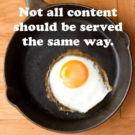 Beware the Gooey Egg Yolk: How to Master Email Nurture Campaigns - Kapost Content Marketeer | Healthy Foods | Scoop.it
