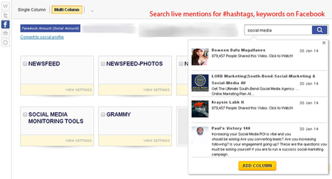 Monitoring Twitter & Facebook for Hashtags, Keywords & Twitter Handles | Its All About Social Media! | Scoop.it