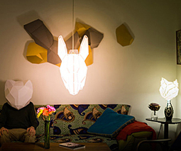 Foldable Animal Lampshades | Light loves shadows | Scoop.it