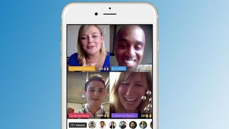Blab video chat app is like Periscope for groups of friends | Collaboration tools and news | Scoop.it