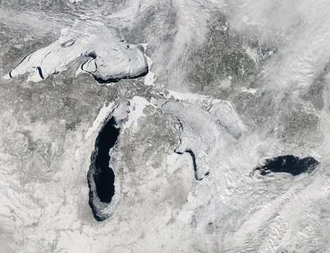 Why It's a Big Deal That Half of the Great Lakes Are Still Covered in Ice | Geography Education | Scoop.it