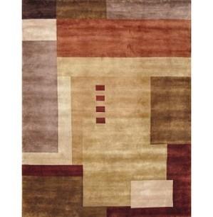 Rugsville Tibetan Multi Wool Rug 13027  | MODERN Area Rug | Modern Area Rugs | Scoop.it