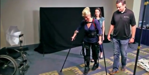Is the Robotic Exoskeleton the End of the Wheelchair?