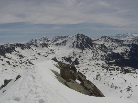Vue du pic d'Aygues-Cluses le 17 mai 2016 - Simon d'Etache | Vallée d'Aure - Pyrénées | Scoop.it