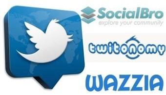 3 grandes herramientas para analizar una cuenta de Twitter: socialbro, twitonomy y wazzia | Redes sociales para la educación | Scoop.it