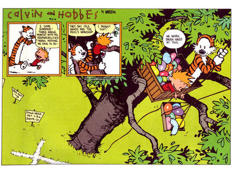 """Life Lessons We Learned From """"Calvin and Hobbes"""" 
