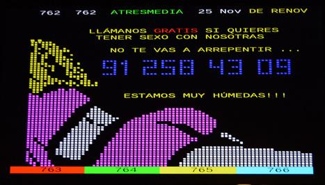 Chicas del#teletexto/ Spanish#teletextgirls (TV... | ASCII Art | Scoop.it