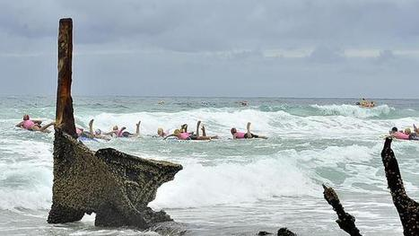 Wreck of SS Dicky on Dicky Beach to be removed due to danger | A bunch of stuff | Scoop.it