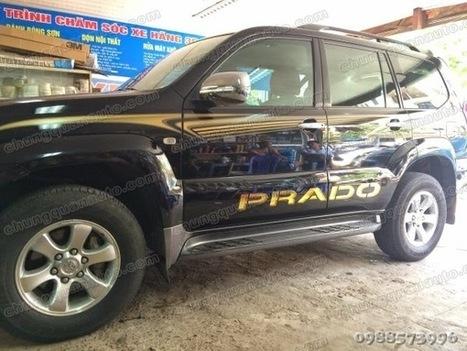 Nội Thất Ô Tô Chung Quân: Phong cách hiện đại hơn với mẫu tem xe prado 2014   nội thât ô tô chung quân   Scoop.it