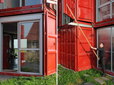 patrick partouche: maison container lille | sustainable architecture | Scoop.it