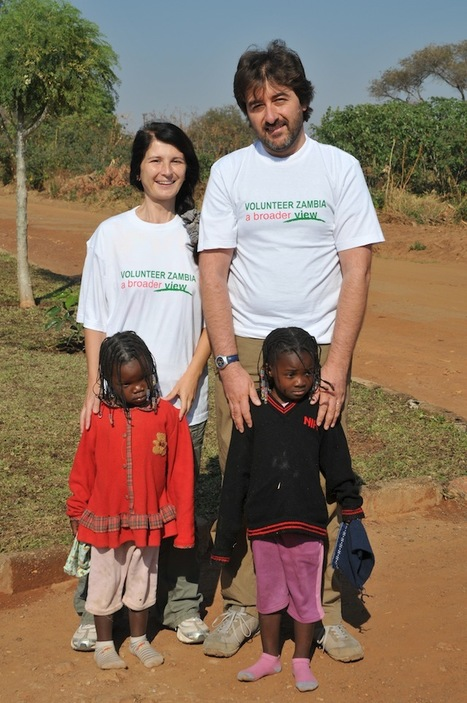 "Alessandra & Filippo Volunteer in Lusaka, Zambia | ""#Volunteer Abroad Information: Volunteering, Airlines, Countries, Pictures, Cultures"" 