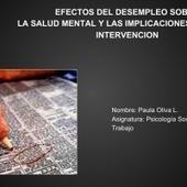 EFECTOS DEL DESEMPLEO SOBRE LA SALUD MENTAL Y LAS IMPLICACIONES | Psicología Social y del Trabajo | Scoop.it