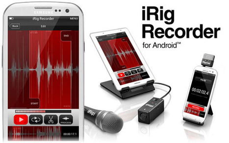 iRig Recorder ya disponible para Android | apps educativas android | Scoop.it