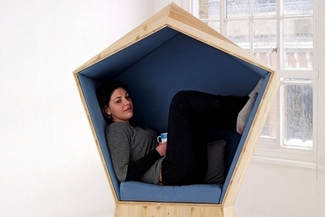 Cocoon Chair Provides Personal Space In Busy Locales [Pics] - PSFK | Personas 2.0: #SocialMedia #Strategist | Scoop.it