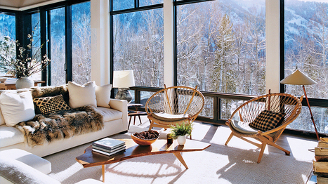 Let It Snow! 6 Decorating Ideas For a Chic Ski Home | House Porn | Scoop.it