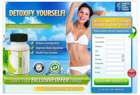 Clear Cleanse Pro Reviews - Get Free Trial Now (Limited time) | Shed Your Weight in a Natural Way | Scoop.it