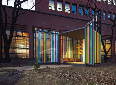 Pop-Up Cubic Libraries : The Mobile Library Project | Libraries & Librarians | Scoop.it