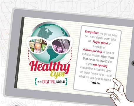 Healthy Eyes In A Digital World [infographic] | The *Official AndreasCY* Daily Magazine | Scoop.it