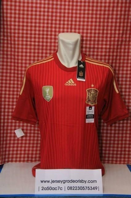 Jersey Spanyol Home Adizero Official Piala Dunia 2014   jual jersey piala dunia   Scoop.it